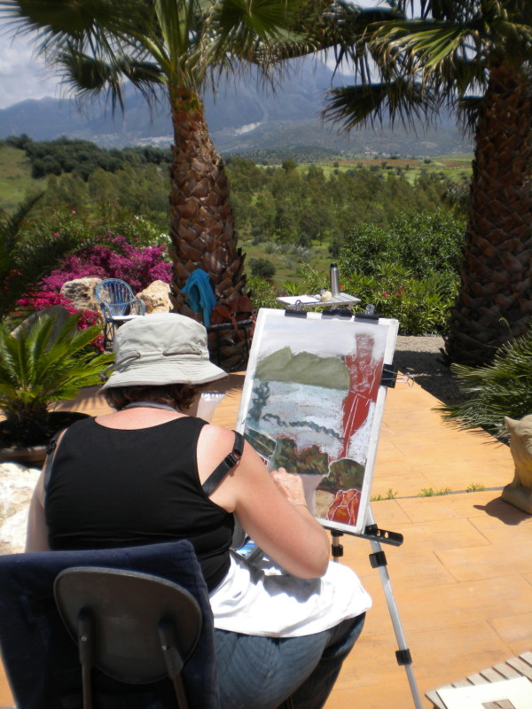 Vinuela Painting Day
