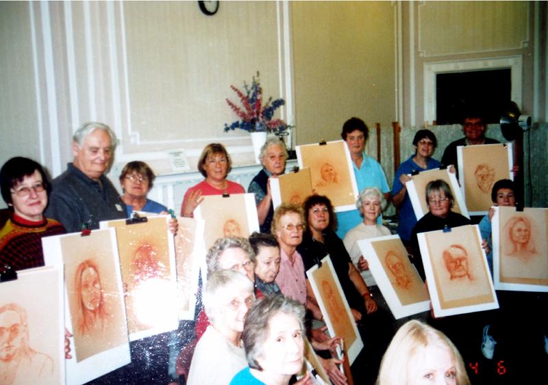 Sanguine Portrait Course -- Alston Hall 2002