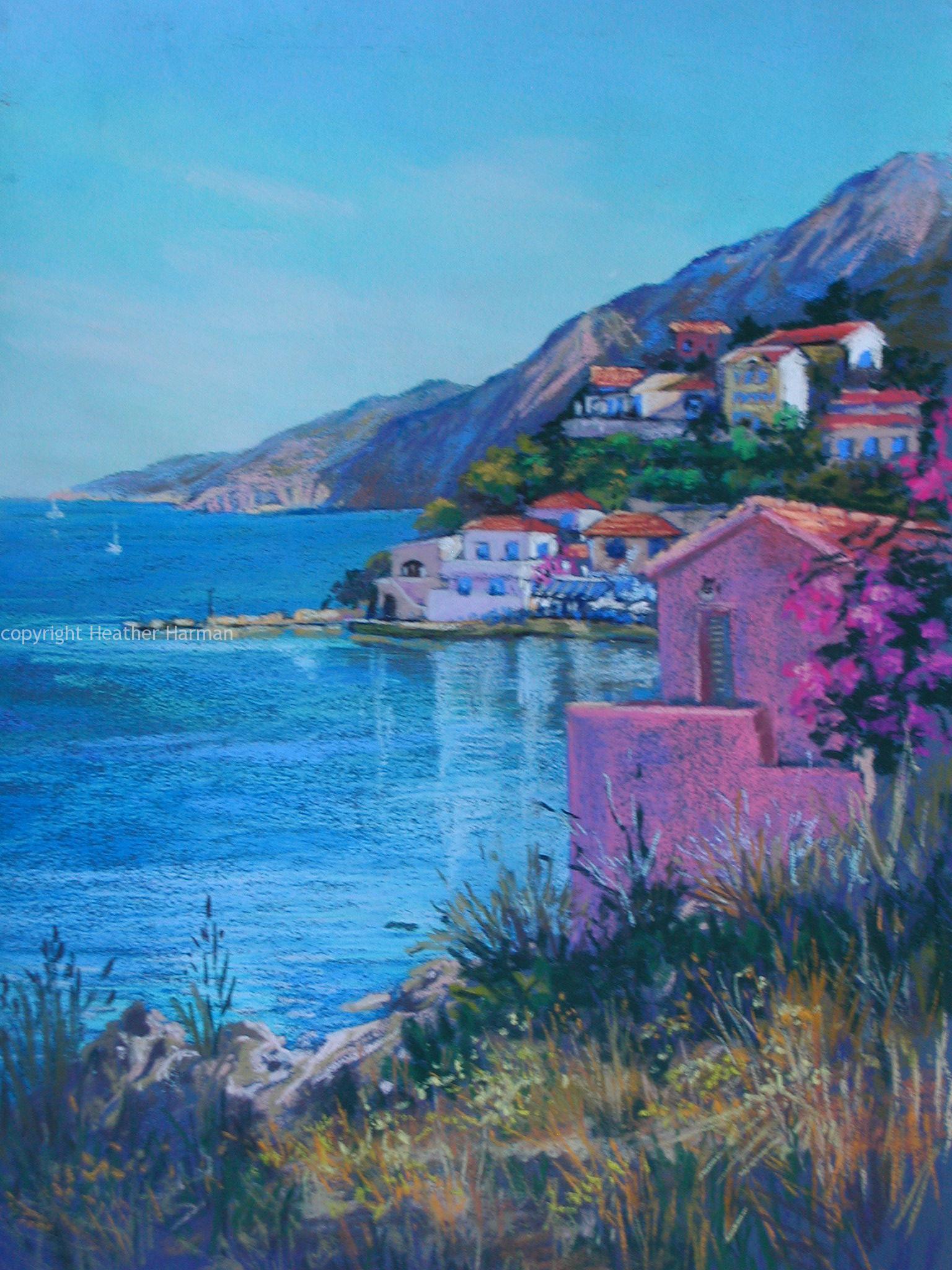 Assos Bay -Cephalonia