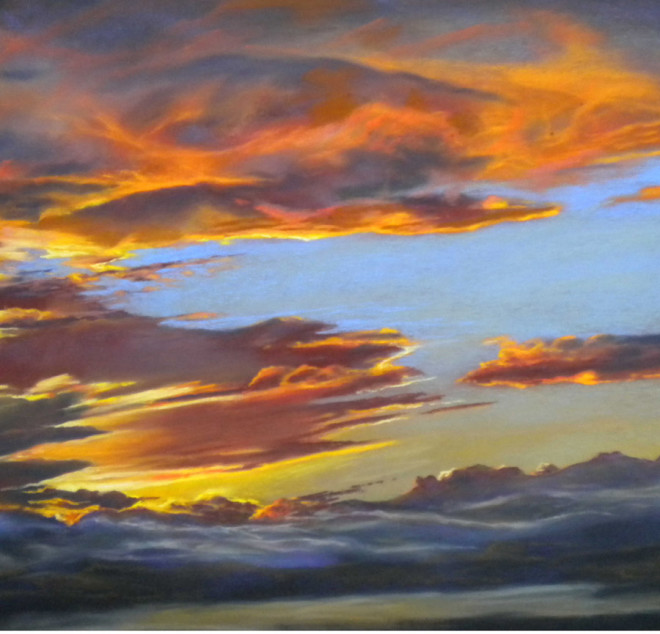 Vinuela Sunset 1